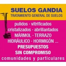 Servicio de abrillantado de pisos - SUELOS GANDIA