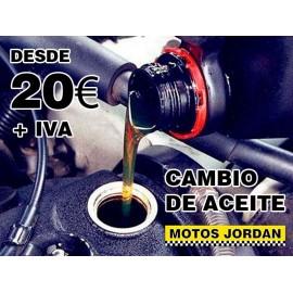 Cambio de aceite - Motos Jordan