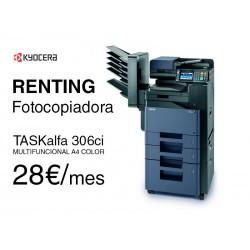 Alquilar fotocopiadora TASKalfa 306ci - Kyocera