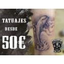 Tatuajes desde 50€