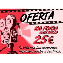 100 fotos por sólo 25€